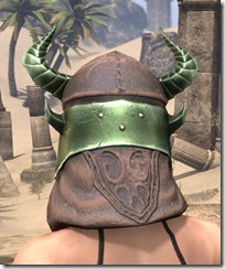 Pit Daemon Helm - Female Rear