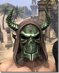 Pit Daemon Helm - Male Front