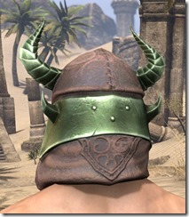 Pit Daemon Helm - Male Rear
