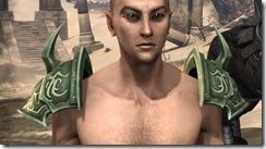 Pit Daemon Pauldrons - Male Front
