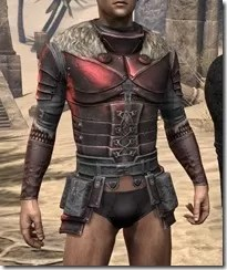 Silver Dawn Heavy Cuirass - Male Front