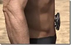 Silver Dawn Medium Belt - Male Right