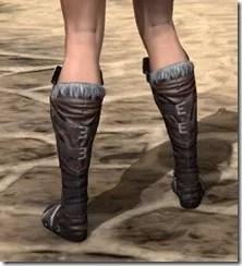 Silver Dawn Medium Boots - Female Rear