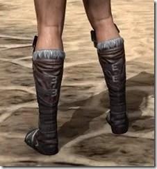 Silver Dawn Medium Boots - Male Rear