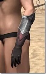 Silver Dawn Medium Bracers - Female Side