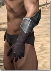 Silver Dawn Medium Bracers - Male Side