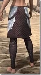Silver Dawn Medium Guards - Female Rear