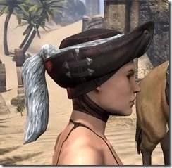 Silver Dawn Medium Helmet - Female Right