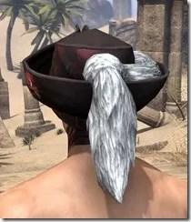 Silver Dawn Medium Helmet - Male Rear