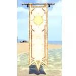 Sunhold Banner, Hanging