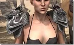 Vykosa Pauldrons - Female Front