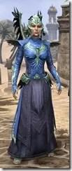 Welkynar Ancestor Silk - Dyed Robe Front