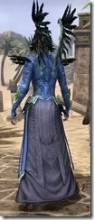Welkynar Ancestor Silk - Dyed Robe Rear