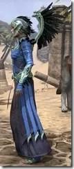 Welkynar Ancestor Silk - Dyed Robe Side