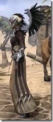 Welkynar Ancestor Silk - Female Robe Side