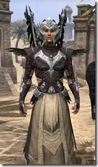 Welkynar Ancestor Silk - Male Robe Close Front