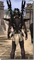 Welkynar Ancestor Silk - Male Shirt Close Rear