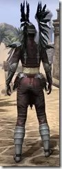 Welkynar Rubedo Leather - Female Rear