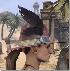 Werewolf Hunter Hat - Dyed Side