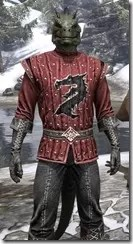 Alliance Rider Outfit EP - Argonian Male Close Front