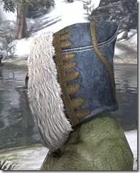 Colovian Filigreed Hood Argonian Side