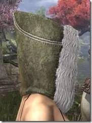 Colovian Fur Hood Dyed Side