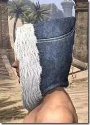 Colovian Fur Hood Male Side