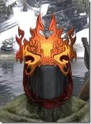 Flkamebrow Fire Veil Argonian Front
