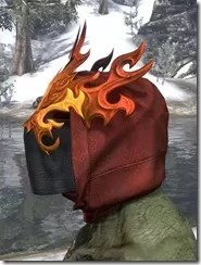 Flkamebrow Fire Veil Argonian Side
