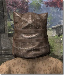 Renegade Dragon Priest Mask - Khajiit Rear