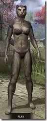 Sable Man-Beast - Khajiit Front