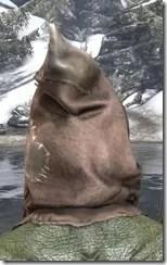 Scarecrow Spectre Mask - Argonian Rear