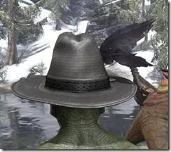 Werewolf Hunter Hat - Argonian Rear