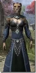 Ancestral Homage Formal Gown - Khajiit Female Close Front