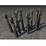 Ashlander Fence, Totems