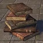Book Stack, Levitating