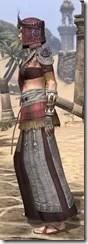 Elder Argonian Ancestor Silk - Female Robe Side