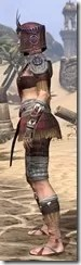 Elder Argonian Ancestor Silk - Female Shirt Side