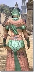 Elder Argonian - Dyed Robe Close Rear