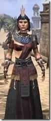 Elder Argonian - Female Robe Close Front