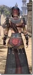 Elder Argonian - Female Robe Close Rear