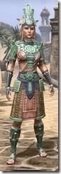 Elder Argonian Heavy - Dyed Front