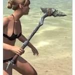 Elder Argonian Iron Axe