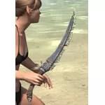 Elder Argonian Iron Dagger