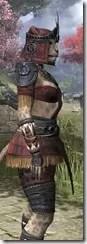 Elder Argonian - Khajiit Female Shirt Close Side