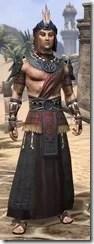 Elder Argonian - Male Robe Front