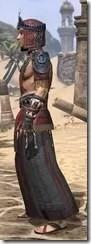 Elder Argonian - Male Robe Side