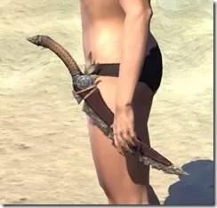 Elder Argonian Rubedite Dagger 1