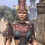 Elder Argonian Rubedite