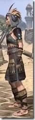 Elder Argonian Rubedo Leather - Female Side